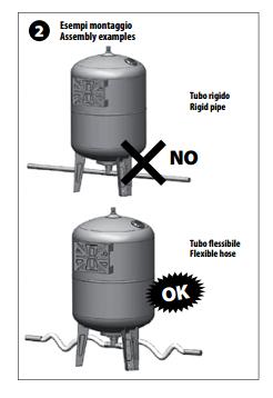 Cách lắp đặt bình tích áp 2